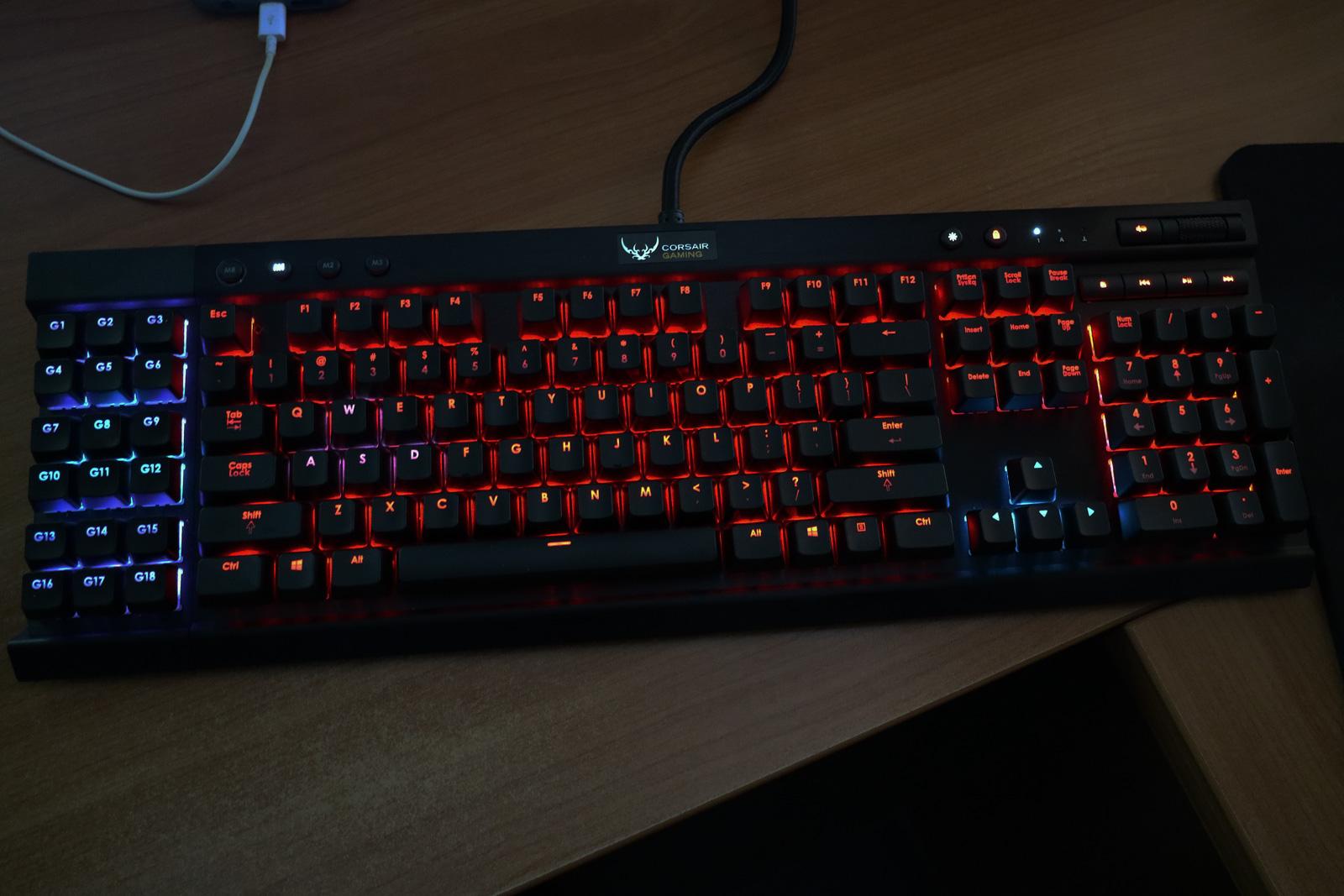 Corsair K95 RGB keyboard mini-review | Evehermit